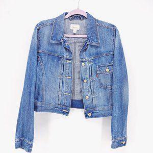 Girls' Levi's 100% Denim Jacket Sz L